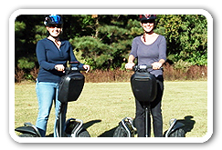 New Segway PT Tours in New Quarter Park in Williamsburg, VA