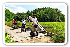 Historic Segway PT Adventure Tours in Williamsburg Virginia