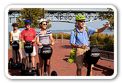 Historic Segway PT Adventure Tours in Yorktown Virginia